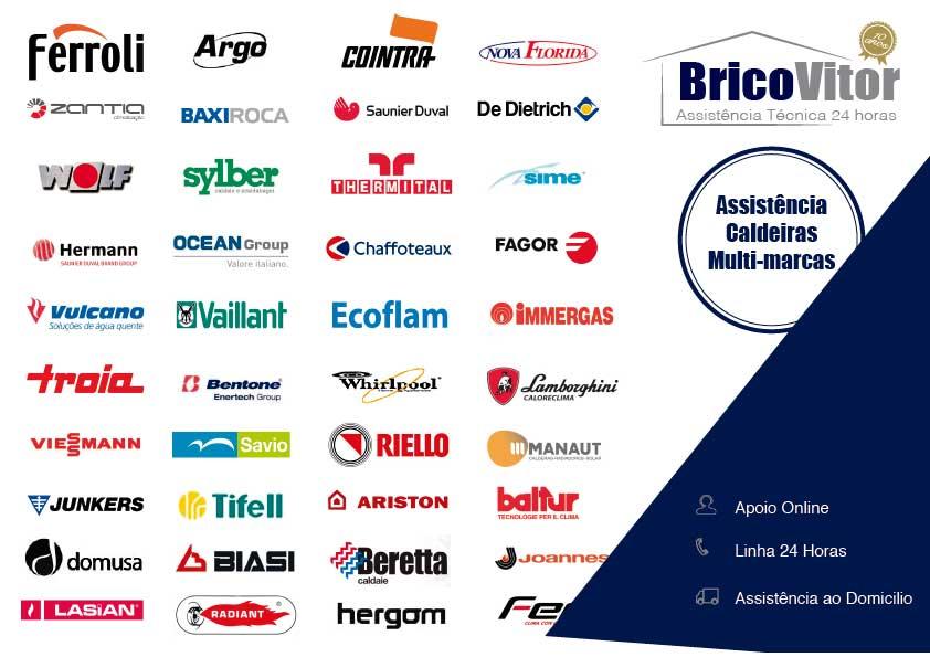 Empresa de assistência REparação e manutenção de Caldeiras Multi marcas